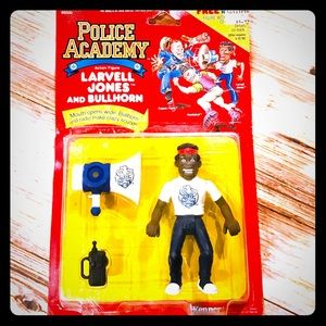 Vintage Larvell Jones Police Academy Action Figure